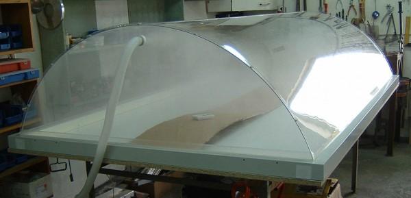 Abdeckhaube zur Befeuchtung für Unterdruckwässertisch BT1510