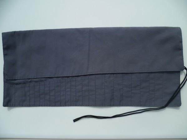 Werkzeugtasche, grau, 24 Fächer, ohne Inhalt