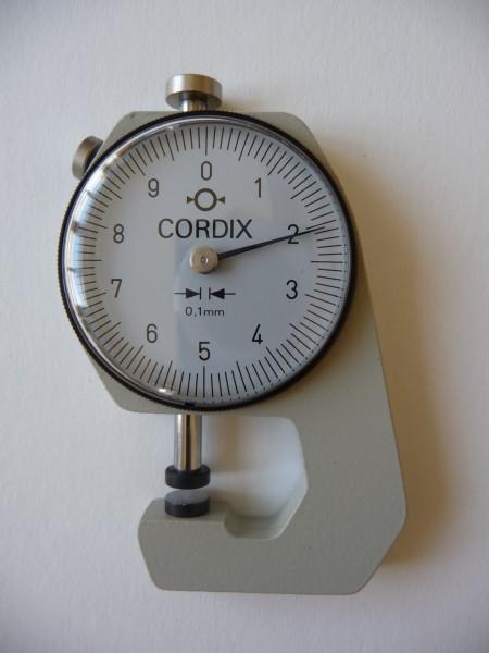 Dickenschnellmesser Cordix
