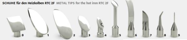 Schuh für den Heizkolben RTC-2F