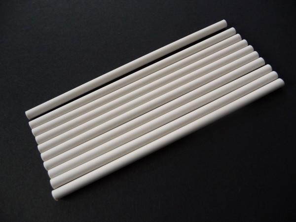 Radierminen, weiß, dünn, für ECOBRA Radierstift , 3,8 x 120mm, 10 Stück