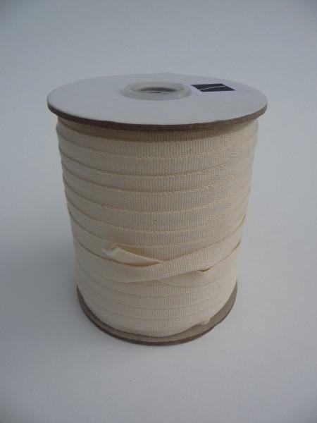 Baumwollbindeband, ungebleicht