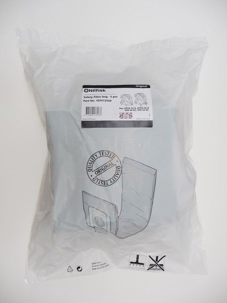 Safety filter bag IFA for ATTIX 33-2H PC, pack of 5
