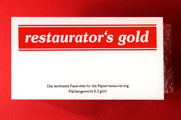 Restaurator's Gold, 0,3g/m², 6x8cm