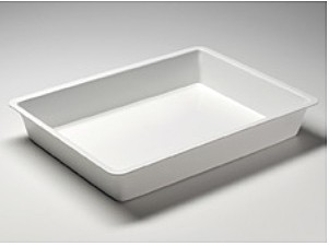 Photographic Trays, white PVC