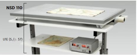 Miniunterdrucktisch NSD 110 mit Regler