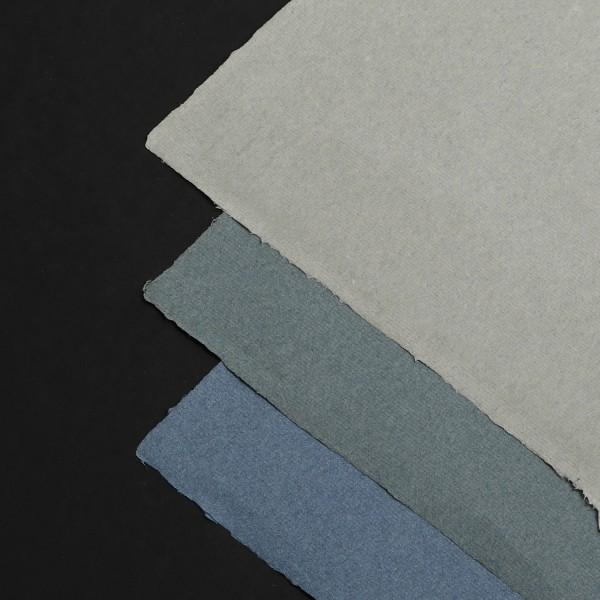 Blaue Papiere