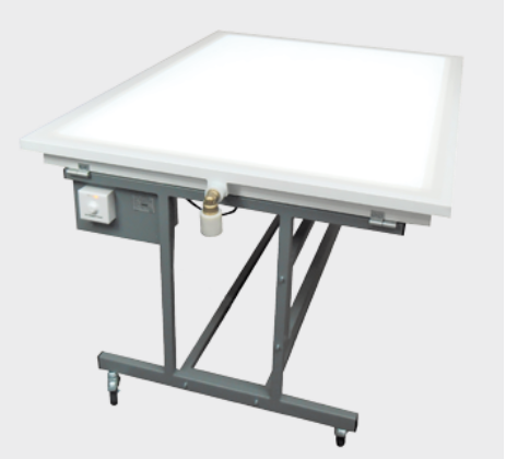 Illuminated Low-Pressure Table NSP-GL LED
