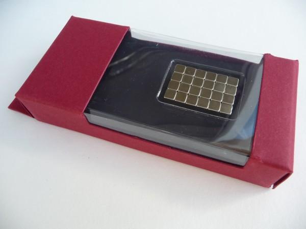 Magnetwürfel, 5 mm³, 48 Stück