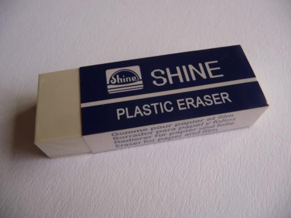 """PVC-Radierer """"SHINE"""", 10 Stück"""