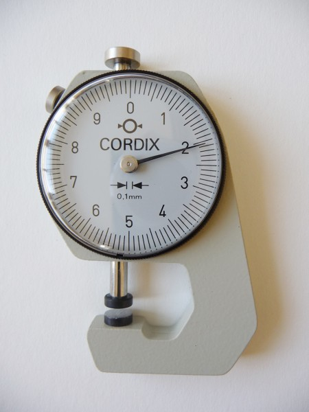Thickness Gauge Cordix