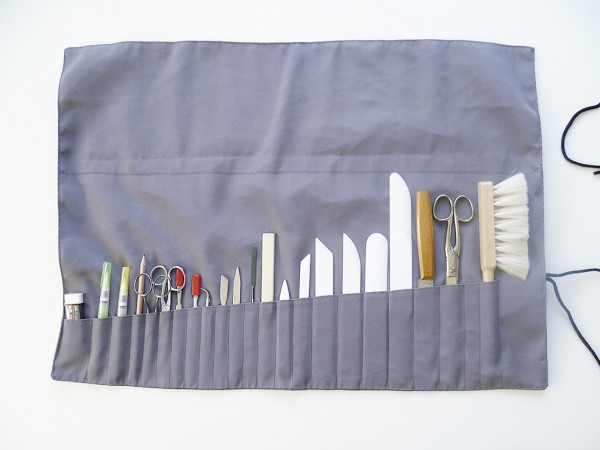 Tool Bag, grey, 69x49cm, tools included